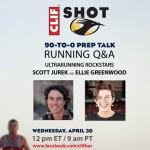 Clif's Facebook Chat With Ultrarunners Scott Jurek & Ellie Greenwood